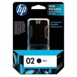 Cartucho Hewlett Packard HP 02 (C8721WL)