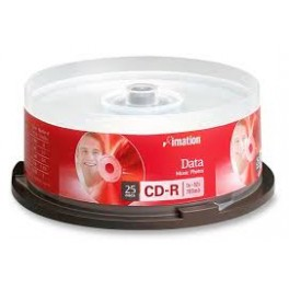 Cd Grabable R Caja x25 Imation