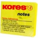 Notas Adhesivas Amarillas NF7 Kores