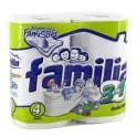 Papel Higienico Rollo 3 en 1 Familia